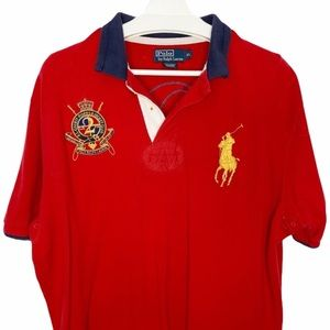 POLO RALPH LAUREN Country Riders Crest Rugby Shirt